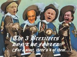 The Three Little Brexiteers