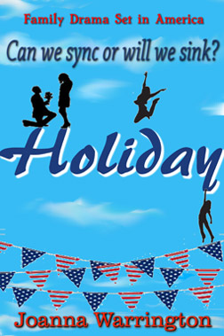 Holiday by Joanna Warrington available on Amazon soon