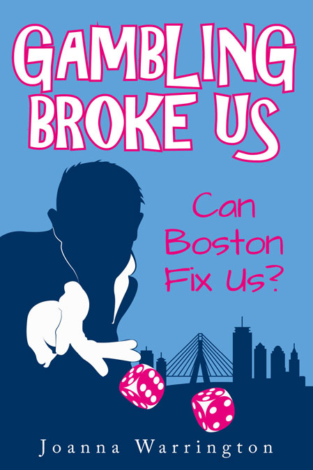 Gambling Broke Us by Joanna Warrington book cover
