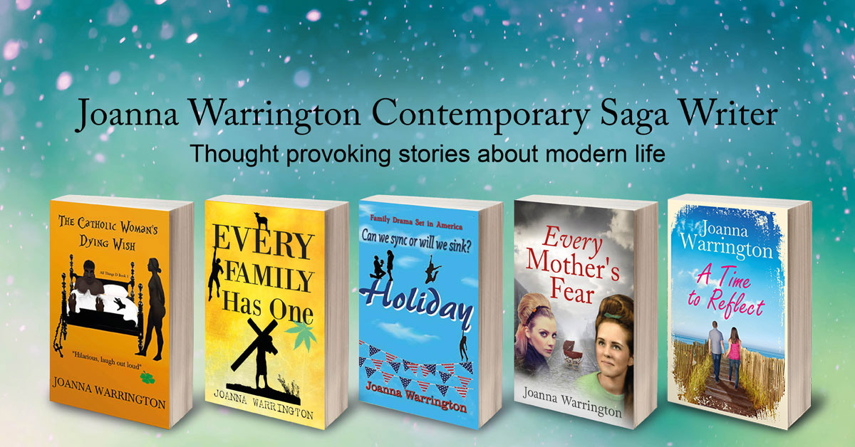 Joanna Warrington Contemporary Saga Writer